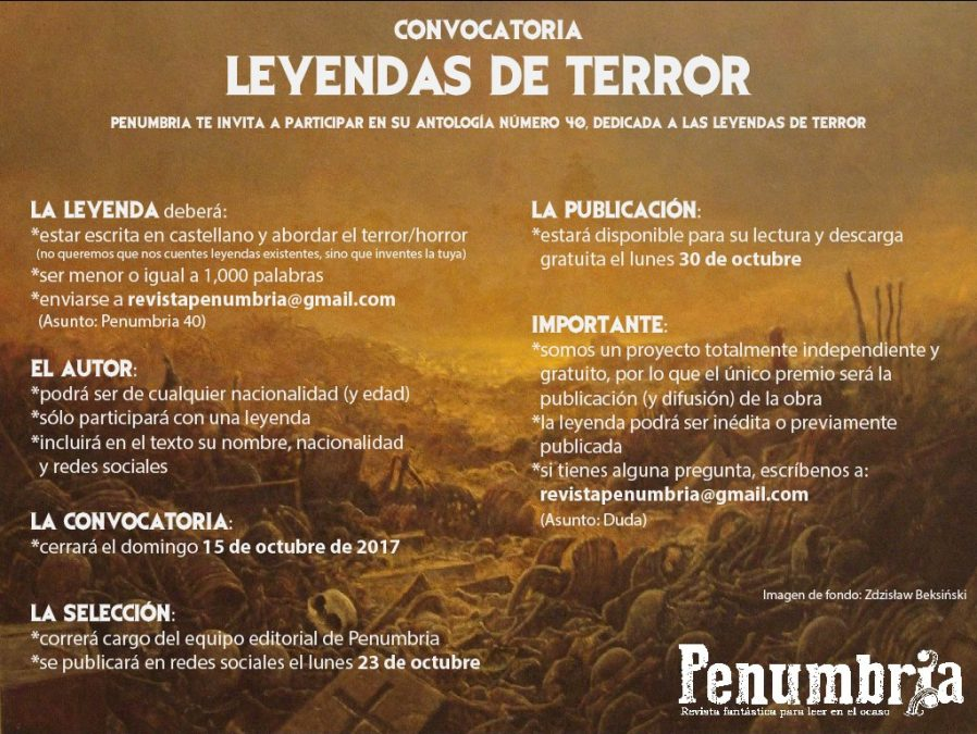 CONVOCATORIA – PENUMBRIA 40