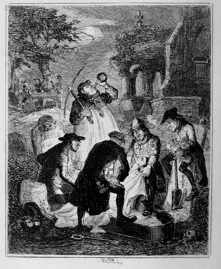 ladrones de tumbas cadáveres